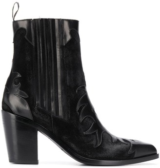 Sartore Western Ankle Boots