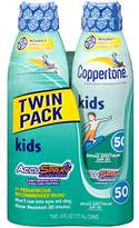 Coppertone Kids Continuous Spray SPF 506 Ounces (Twin Pack)