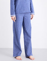 Calvin Klein Check-pattern cotton-flannel pyjama bottoms