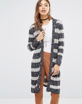 Free People Free Spirit Cardigan In Multi Stripe