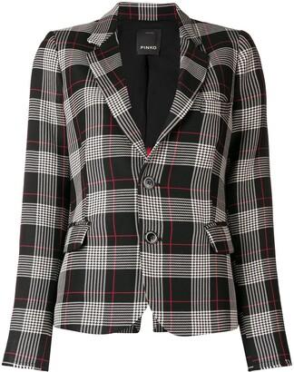Pinko checked blazer