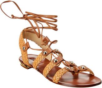 Schutz Lynda Leather Sandal