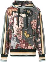 Dolce & Gabbana Oriental print hoodie