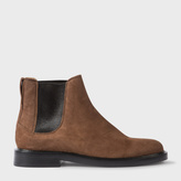 Paul Smith Women's Tan Suede 'Camaro' Chelsea Boots