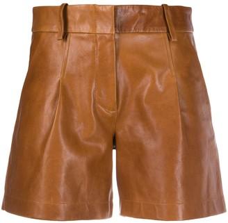 Arma Pleated Waist Shorts