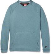 Nike Cotton-Blend Tech Fleece Sweatshirt
