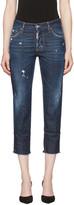 DSQUARED2 Blue Boyfriend Jeans