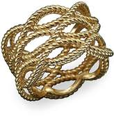 Roberto Coin 18K Yellow Gold Triple Row Twisted Ring