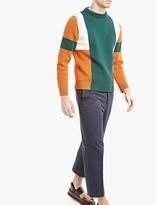 Marni Navy High-waisted Trousers