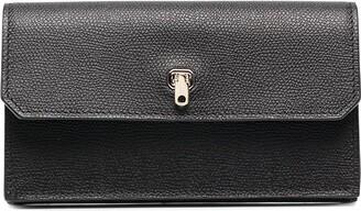 Valextra Brera long leather wallet