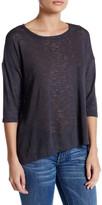 Bobeau 3/4 Sleeve Knit Tee (Petite)