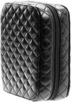 Trish McEvoy Classic Black Quilted Makeup Planner, Petite