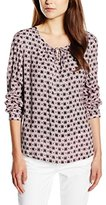 Gerry Weber Women's Long Sleeve Long-Sleeved Shirt - Multicoloured -