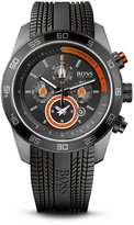HUGO BOSS '1512662'   Black Silicon Strap Chronograph Watch by BOSS