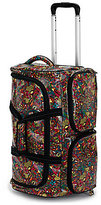 Sakroots Artist Circle Floral Rolling Carry-On Duffel