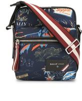 Bally tropical print messenger bag