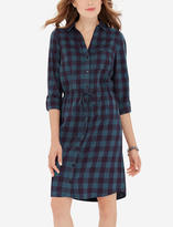 The Limited Plaid Shirt Dress