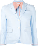 Thom Browne fitted blazer - women - Cotton - 42