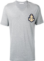 Pierre Balmain anchor patch striped T-shirt - men - Cotton/Viscose - 48