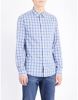 Michael Kors Wyatt Slim-fit Cotton Shirt
