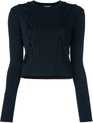 Neil Barrett Cable Knitted Jumper