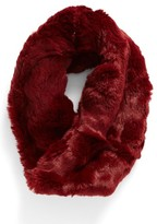 Badgley Mischka Women's Faux Chinchilla Neck Warmer