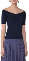 Akris Punto Women's Knit Off The Shoulder Top