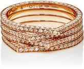 Repossi Women's 4-Row Antifer Ring-PINK
