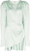 Rotate Aiken puff sleeve dress