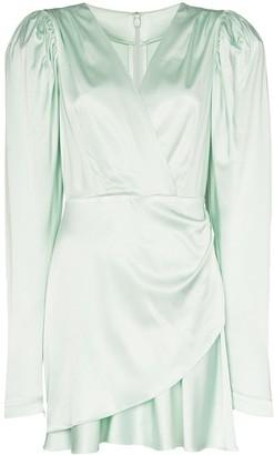 Rotate by Birger Christensen Aiken puff sleeve dress