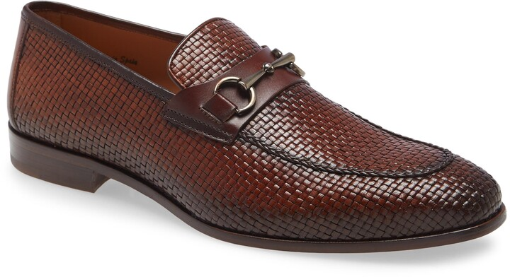 Thumbnail for your product : Mezlan Woven Bit Loafer