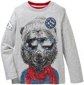 Joe Fresh Graphic Long Sleeve Tee (Little Boys & Big Boys)