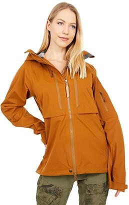 Fjallraven Keb Eco-Shell Jacket W (Dark Navy) Women's Coat