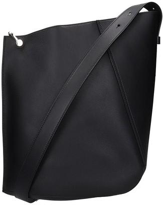 Lanvin Shoulder Bag In Black Leather