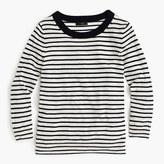 J.Crew Petite Tippi sweater in nautical stripe