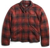 Ralph Lauren Weist Plaid Fleece Jacket