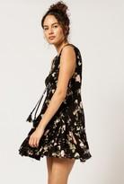 Azalea Tie Neck Floral Dress