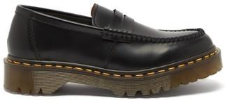 Comme des Garçons Comme des Garçons X Dr. Martens 1461 Leather Penny Loafers - Black