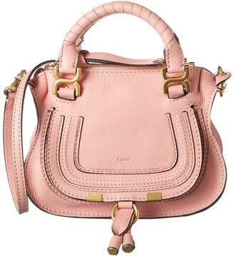 Chloé Marcie Mini Leather Satchel
