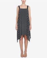 CeCe Handkerchief-Hem Shift Dress