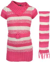 """Girls' Little Girls' Toddler """"To the Max"""" Belted Tunic"""