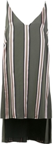 ADAM by Adam Lippes Striped Deep V-Neck Tunic