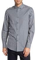 Pal Zileri Men's Fade Out Gingham Sport Shirt
