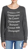 Wildfox Couture Grocery List Sweatshirt - 100% Bloomingdale's Exclusive