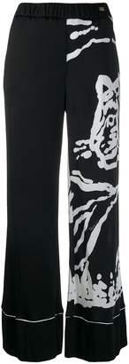 Class Roberto Cavalli wide leg trousers