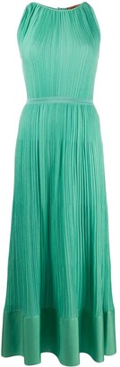 Missoni Micro Pleated Sleeveless Dress