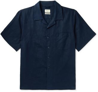 Bellerose Camp-Collar Linen Shirt