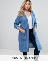 Junarose Denim Duster Coat