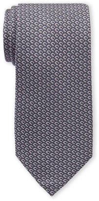 Michael Kors Grey Geo Cube Silk Tie
