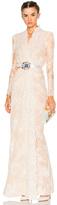 Alexander McQueen Sara Lace Wrap Dress